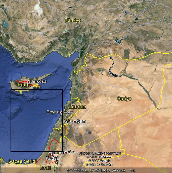 Dogu Akdeniz Petrol Sahaları